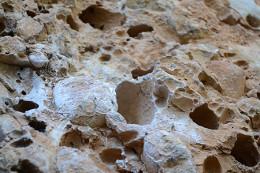 Margalefの礫岩はこんな感じ